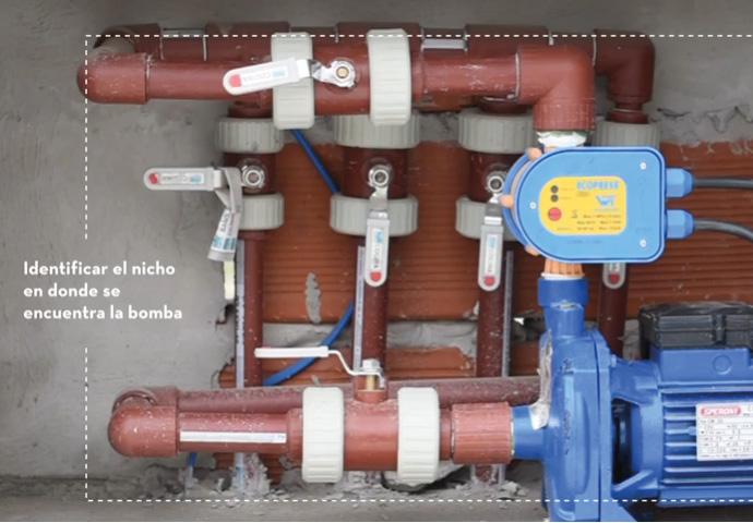 Como saber si funciona una bomba de agua de casa