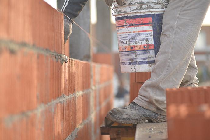 El trabajador de la construcción
